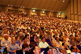 准組合員も出席する総会(2014年5月の通常総会)