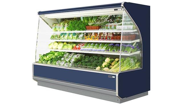 省エネ性能追求した新型冷凍冷蔵ショーケースを発売ーオカムラ