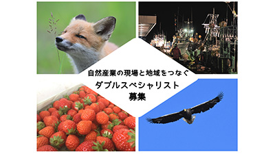 自然資源活用にビジネススキル活かす 「ダブルスペシャリスト」募集 北海道浦河町