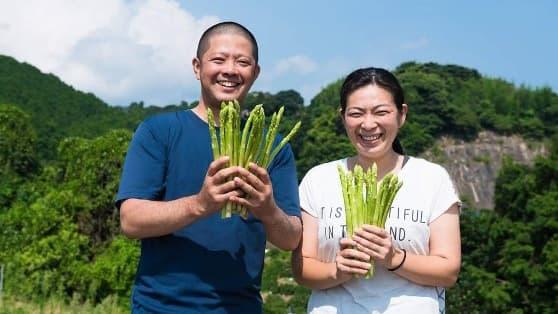 2018年5月に放送された安東さん夫婦(佐賀県)の「森のアスパラ」