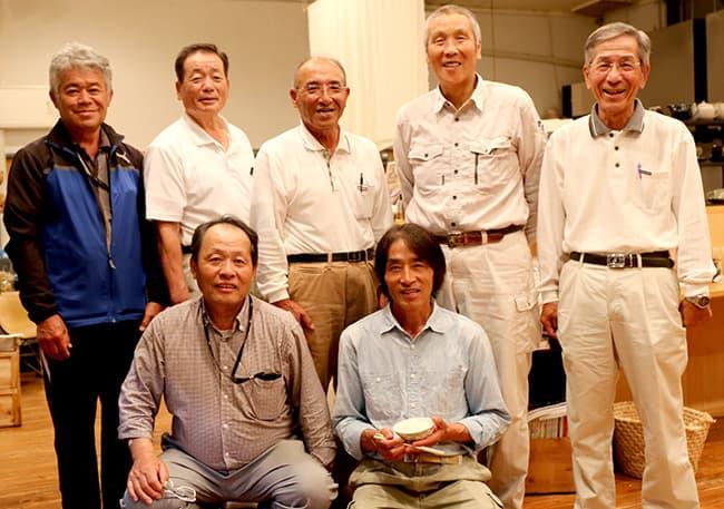 西粟倉の米生産者