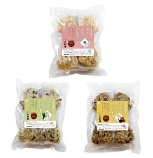「玄米おむすび」パッケージ
