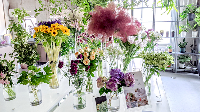 花と植物のオンライン接客サービス「Your Florist」スタート BOTANIC