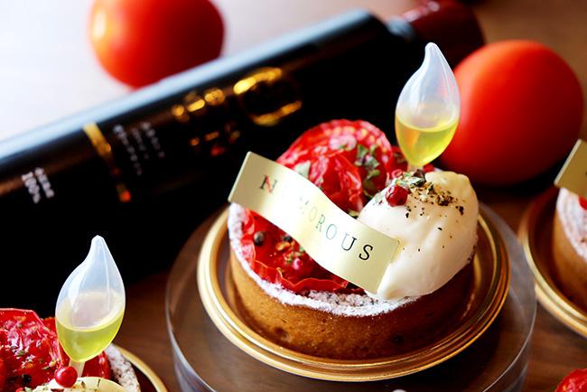 「すずこま」を使ったケーキ「トマトマ」