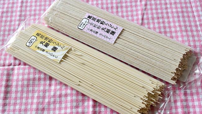 「地粉の丸細麺」