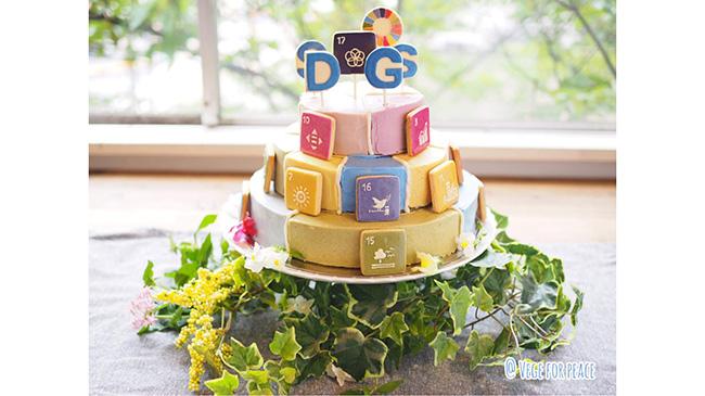 リアル「SDGsウェディングケーキ」で日本の現状を表現 SDGsジャパン