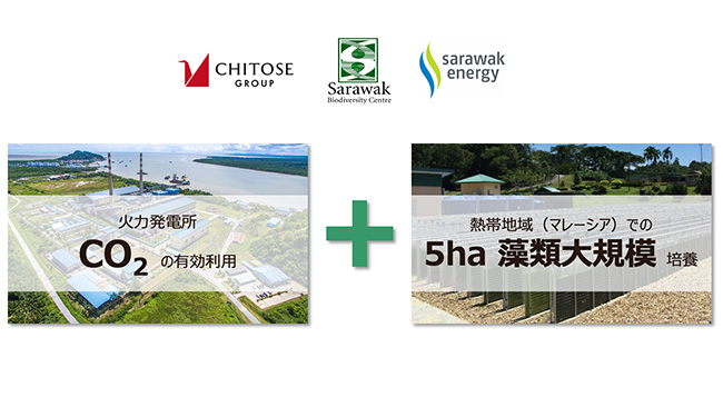 バイオジェット燃料の普及へ 藻類培養設備の構築など実証を開始 ちとせ研究所