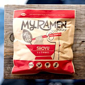オリジナル麺「マイラーメン 醤油」