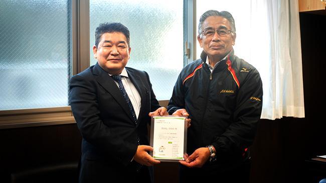 7月豪雨災害支援募金の一部を熊本県の産直産地に贈呈 コープデリ
