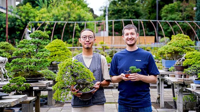 さいたま市盆栽町でインバウンド向け盆栽体験を販売開始