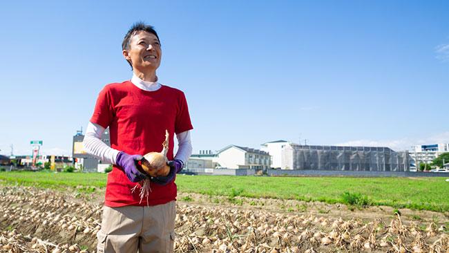 大阪の農家とオンラインで玉ねぎ栽培体験「リモートマイ農家」予約開始