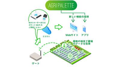 先輩のデータから新規就農者の収量を底上げ「アグリパレット ウィズ」発売 Momo