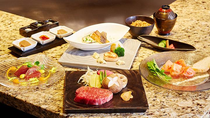2大ブランド牛の神戸牛と松坂牛のロースの食べ比べができる限定メニュー
