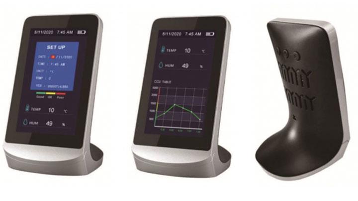 多機能空気検知モニター「AIREAL CHECKER Lite(エアリアル・チェッカー・ライト)」