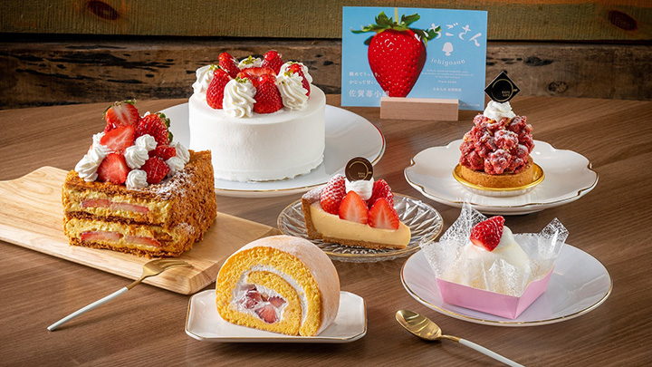 「いちごさん」と香港の人気ケーキ店がコラボしたスイーツ
