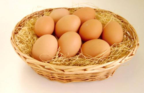 大麦のぬかで作った飼料を食べた鶏が生んだ「大麦卵」