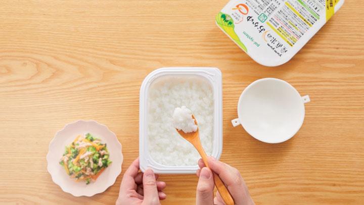 離乳食作りを手軽に「yumyum産直米のおかゆ」新発売 パルシステム