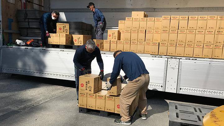 長野県松本市の備蓄用飲料水をフードバンク団体へ寄付 クラダシ