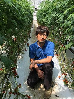 斉藤農園の斉藤雅通さん