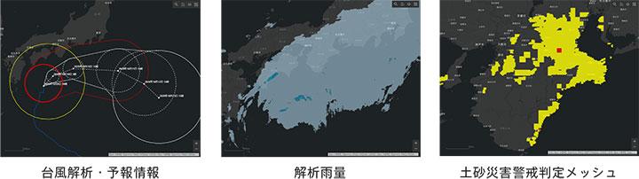 防災気象情報の一例