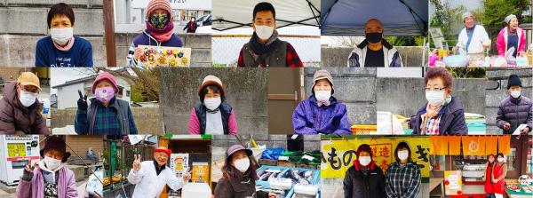 勝浦朝市で「朝市買い物代行サービス」5月22日に開催 まる鮮