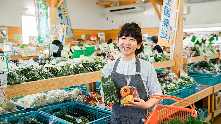 「こゆ野菜カフェ」の永住店長