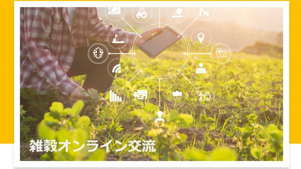 信州産ソルガムの魅力を共有 雑穀オンライン交流会開催 日本雑穀協会