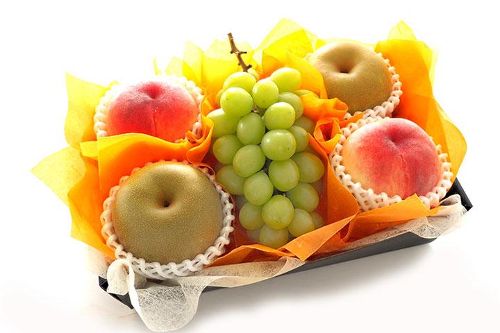 人気のフルーツ3種類を盛り込んだ「敬老の日フルーツギフトC」