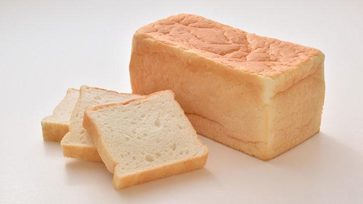 「ふっくら米食」の食パン