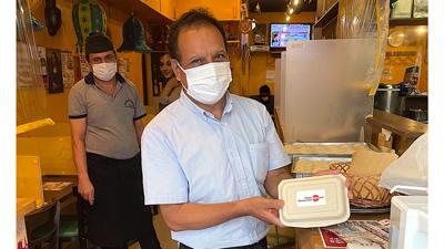 加盟飲食店に食べ残し用のドギーバッグ配布 食品ロス削減へ実証実験開始 エデンレッド