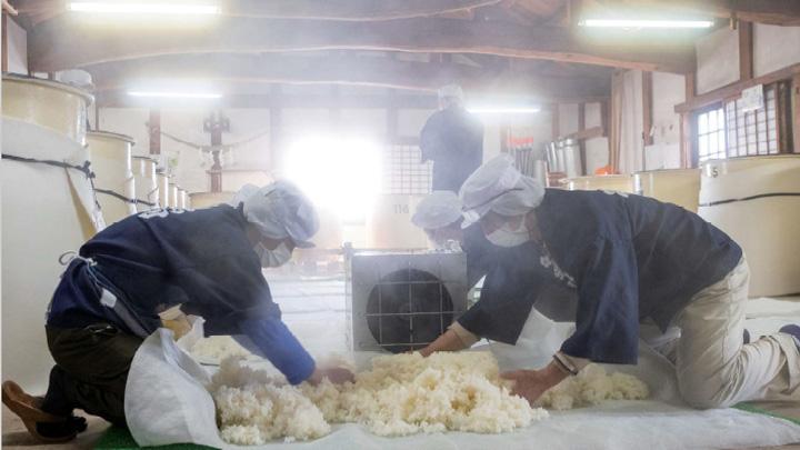 山形の職人の技によって醸される日本酒