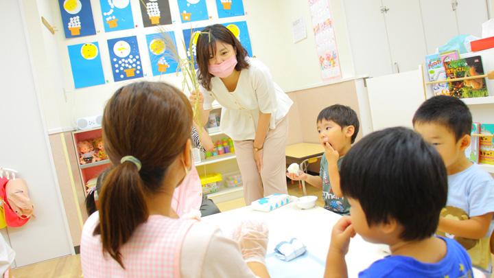 写真を使ってお米の生育を学ぶ