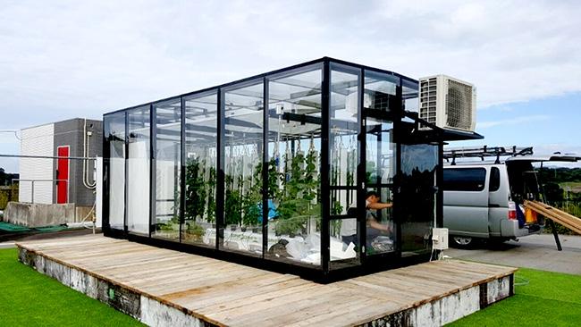 太陽光利用型植物工場「Veggie」