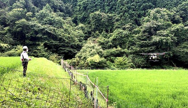 大阪府能勢町天王地区で稲作農家向けドローン講習会を開催