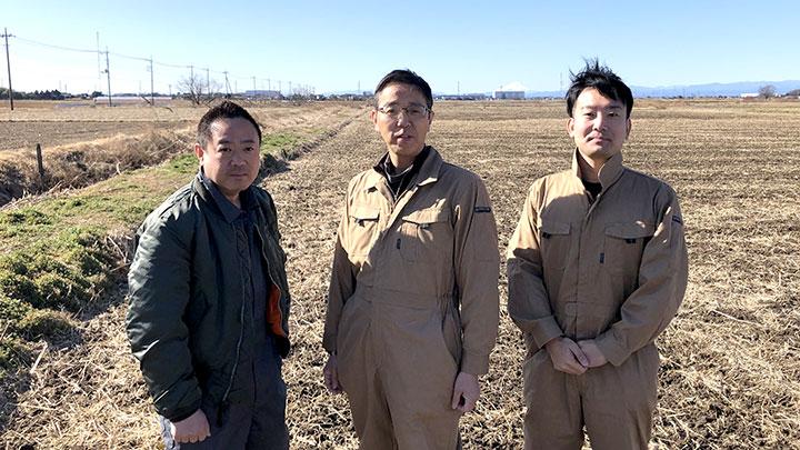加須ファームのメンバー