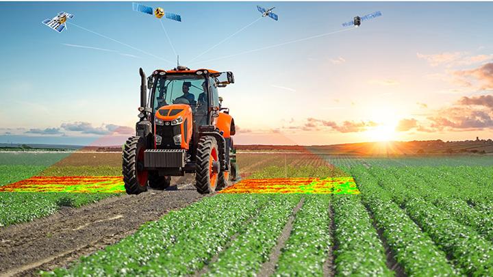 センサーを活用したスマート農業のイメージ