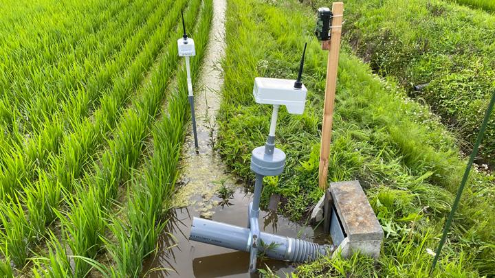 水害を抑止・低減させる「スマート田んぼダム」