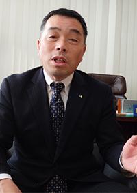 八木岡努代表理事組合長・JA水戸(茨城県)