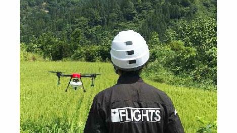 ドローン事業者と防除技術確立で共同研究ー三重県農業研究所