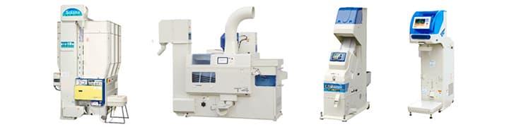 乾燥調製機械
