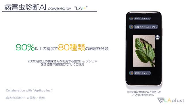 農作業管理アプリに病害虫の画像診断技術を提供 ラプラス