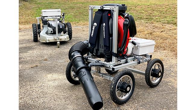 銀座農園と共同開発の農業用無人車両 農業Weekで展示・受注開始 アトラックラボ