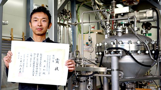 日本応用糖質科学会奨励賞を受賞した池正和氏