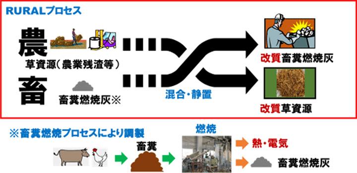 RURALプロセスの概念図