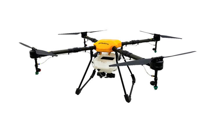 農薬散布ドローン「飛助」独自制御装置で大きく進化 マゼックス
