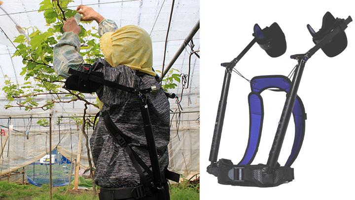 腕上げ作業用アシストスーツ「TASK AR」の最新機種5月に発売 ダイドー