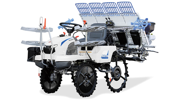 乗⽤⽥植機4条モデルのレンタルサービス開始 唐沢農機サービス