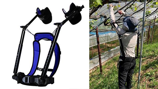腕上げ作業用アシストスーツ「TASK AR」最新機種発売 ダイドー