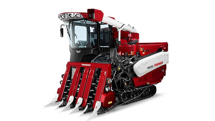 収穫量のバラつきを見える化するマッピング機能 オプション提供を開始 ヤンマー
