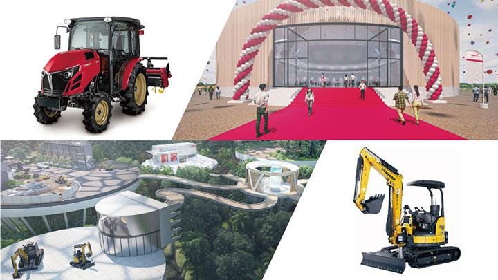 バーチャル空間を活用し農機・建機を展示「オンラインEXPO2021」開催 ヤンマー